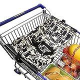Baby-Einkaufswagen-Hängematte, ANSUG kreative faltbare Einkaufszentren Pushcart-Kissen-Bett-Hängematte-sichere Reise und Portable